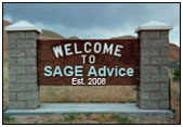 Welcome to SAGE Advice