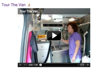 Tour The Van screenshot