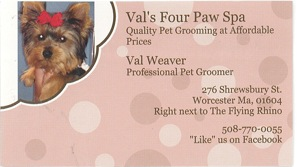 Val's Business Card