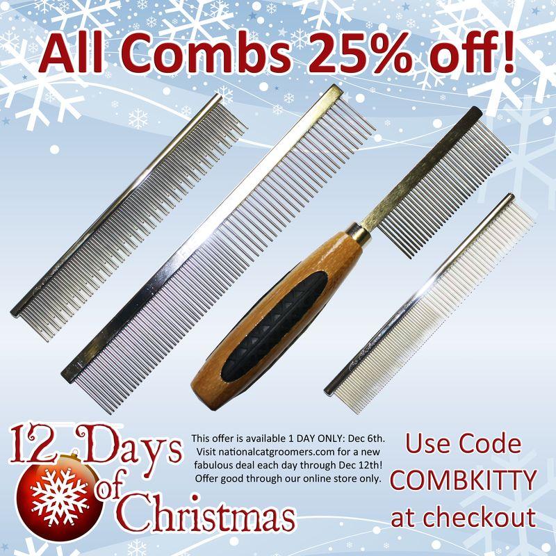 6 12 days combs
