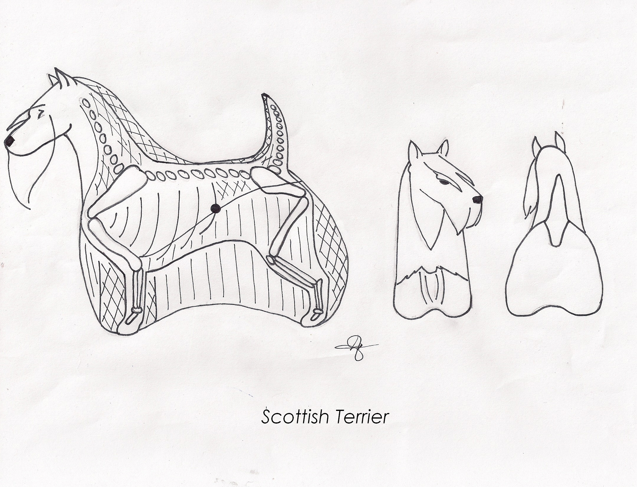 Scottish terrier grooming